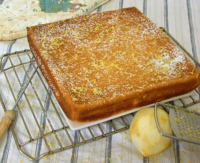 Low-Fat Lemon Yogurt Cake | The Craving Chronicles