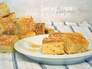 Low Fat Lemon Yogurt Cake