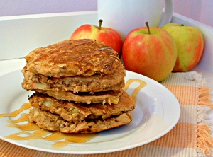 Herbalife Apple Cinnamon Pancakes