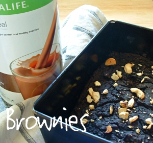 Herbalife Brownies Low Calorie, Low Sugar, High Protein, High Fibre