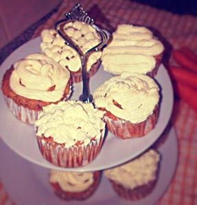 Low Calorie Carrot Cake Cupcakes