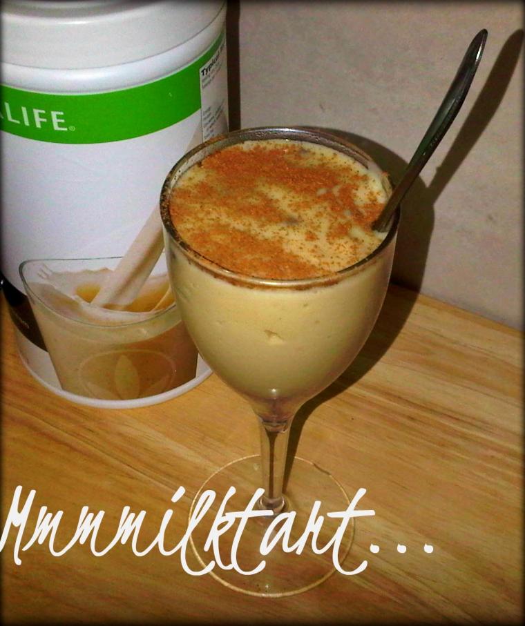 Healthy Milktart