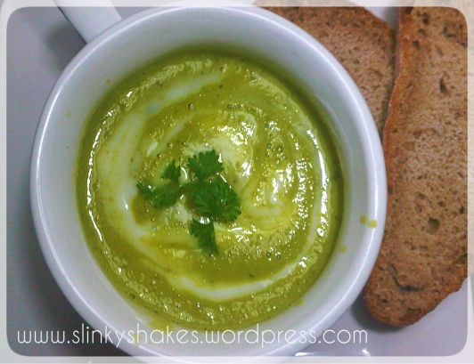 Cold Cucumber and Avocado Soup