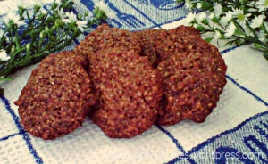 Healthy Cookie Recipes: Chocolate Almond Cookies