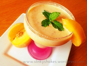 Peaches and Cream Herbalife Shake