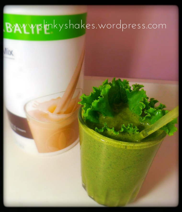 Herbalife Green Monster Smoothie. Healthy Eating. Best Herbalife Shake Recipes