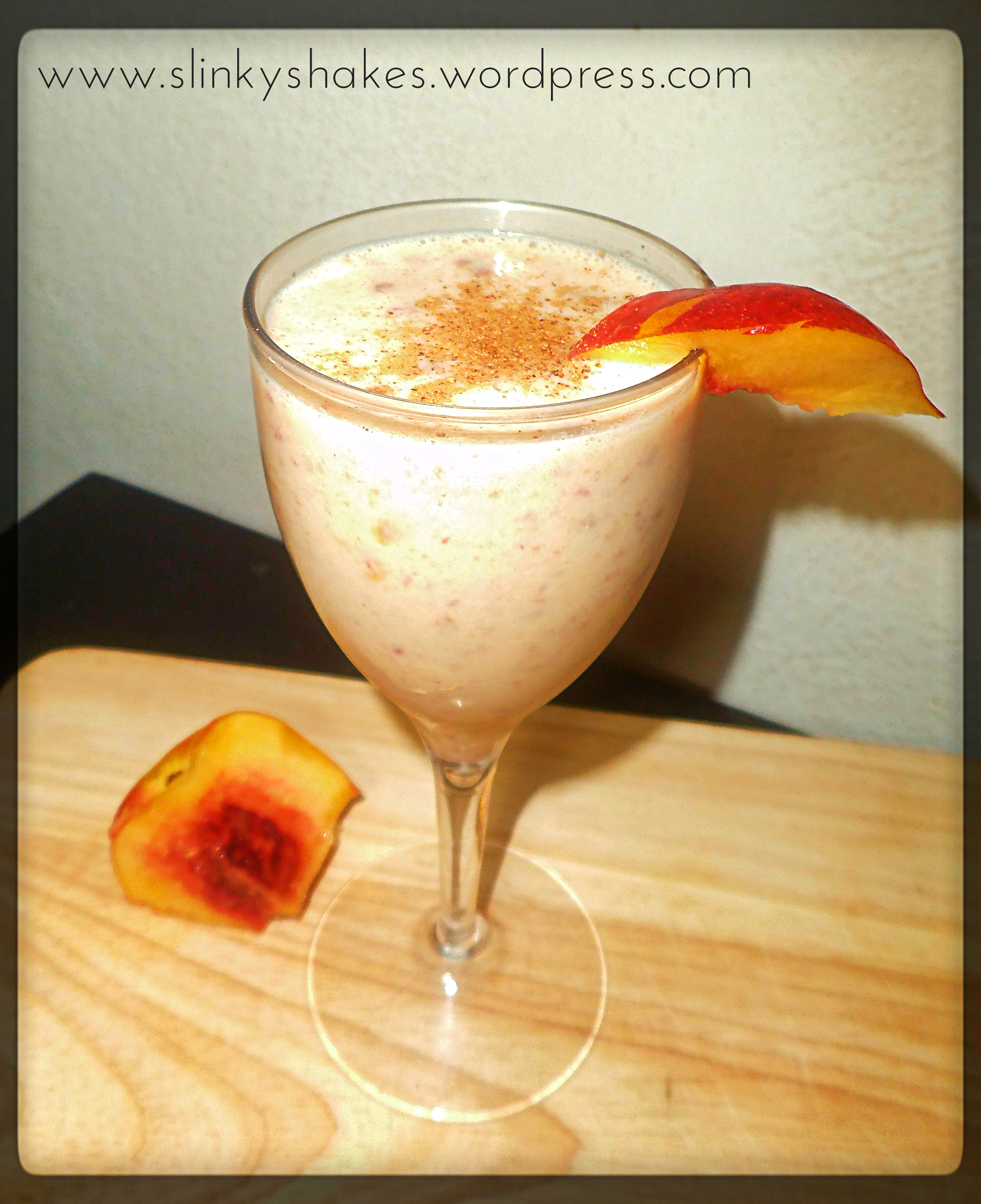 Herbalife Nectarine And Nutmeg Shake. Best Herbalife Shake