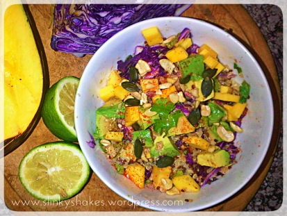 Healthy Eating for weight loss: Mexican Fusion Quinoa Salad